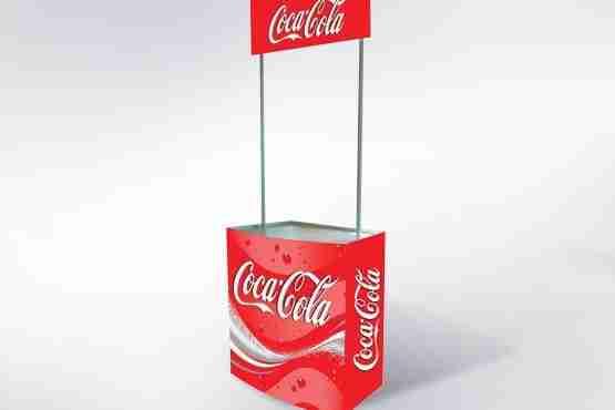 Mostrador Promo Stand Plástico