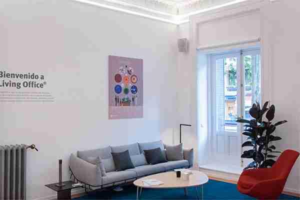 Decoración de interior para Living Office